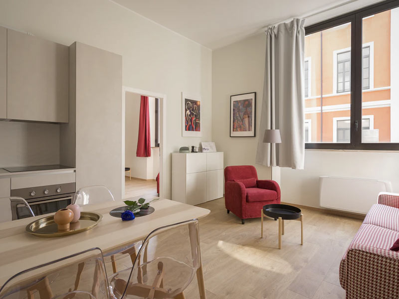 Interno di un appartamento